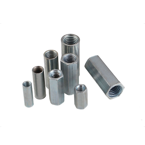 Galvanized Long Hex Nut